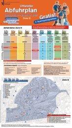 Offizieller Abfuhrplan Januar 2011 – Dezember 2011 ... - Tiefbauamt