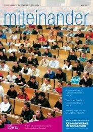 Studieren und leben - Stadtwerke Karlsruhe
