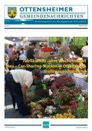 Nr. 333 Oktober 2007 - Marktgemeinde Ottensheim - Land ...