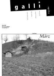März - Der Gallispitz