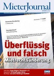 MieterJournal als PDF - Mieterverein zu Hamburg