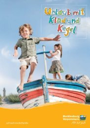 Familienland MV – Urlaub mit Kind & Kegel - Urlaub an Ostsee und ...