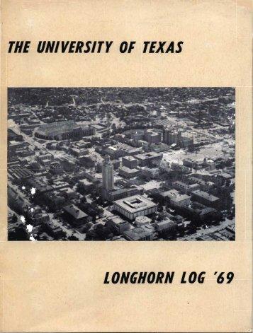 THE UNIVERSITY 0!-' TEXAS LONGIIORN L06 '69 - UT NROTC ...