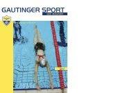 GSC Clubmagazin 2011 - Gautinger SC