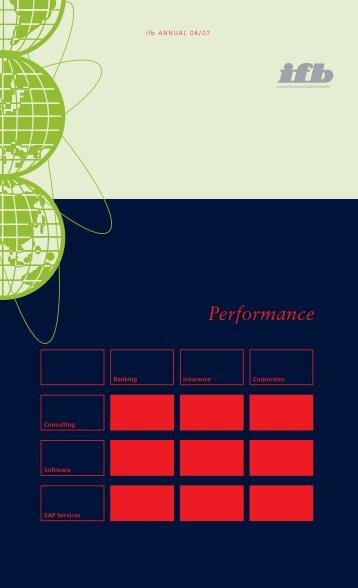 Performance - ifb AG