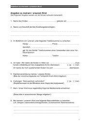 Angaben der Eltern - DJH Sachsen-Anhalt