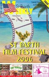 Weekly n°85 - St Barths Online