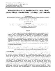 Reduction of Torque and Speed Pulsation in Direct ... - EuroJournals