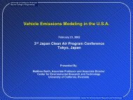 Intelligent Transportation Systems and Mobile Source Emissions
