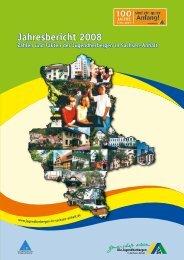 Jahresbericht 2008 - DJH Sachsen-Anhalt