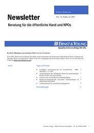 Newsletter Ausgabe 74 - Public Services Newsletter