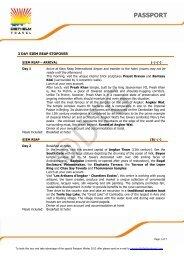 PASSPORT - Diethelm Travel Asia