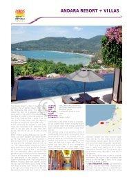 Andara Resort & Villas - Diethelm Travel Asia