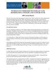 Petroleum Underground Storage Tank Remediation, Upgrade