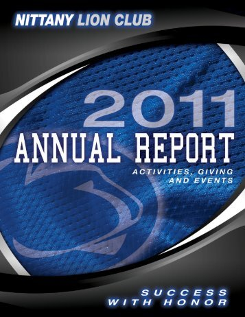 2011 Annual Report / 1 - Community