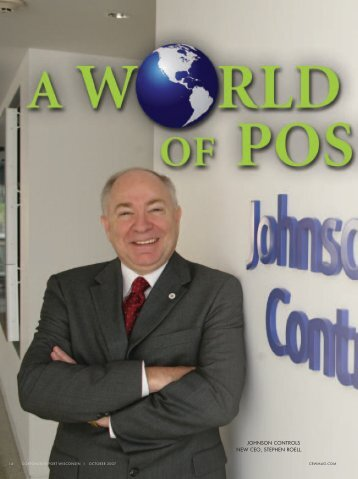 JOHNSON CONTROLS NEW CEO, STEPHEN ROELL.