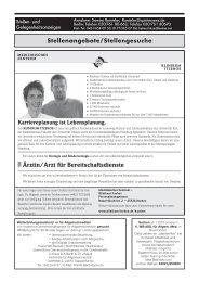 Stationsärztin/-arzt in Vollbeschäftigung - Schleswig-Holsteinisches ...