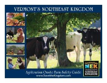 VERMONT'S NORTHEAST KINGDOM - Northeast Organic Farming ...