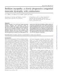 a slowly progressive congenital muscular dystrophy with ... - Brain