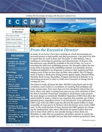 Mar/Apr 2012 - ECCMA