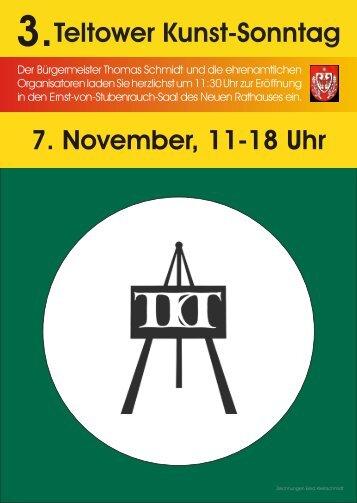 Am 7. November veranstaltet der VGS Kiebitz eV und die AOK den 7 ...