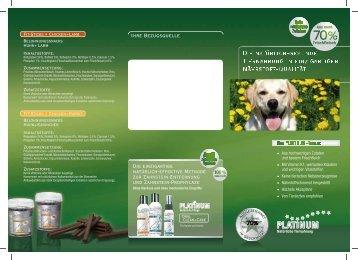 Platinum Hundefutter A4 1 - Passek