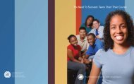 teen voices - The Children's Aid Society