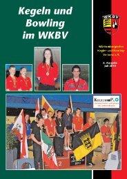 Kegeln und Bowling im WKBV - 6. Ausgabe