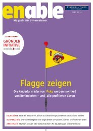 enable - Flagge zeigen - Financial Times Deutschland