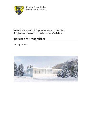Bericht des Preisgerichts - ETH Zurich