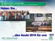 Lehrwerkstatt & HS Alte Geer - Stiftung Partner für Schule NRW