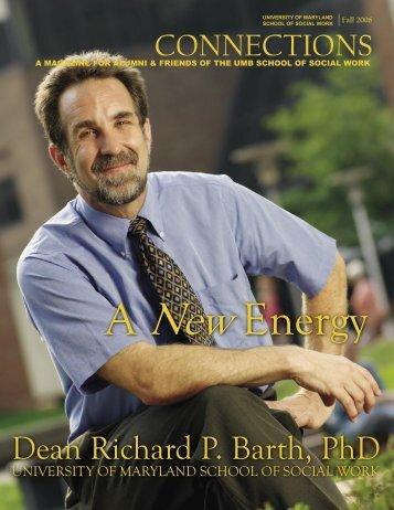Dean Richard P. Barth, PhD - University of Maryland School of ...