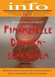 (VOGEL-) FREI IN DER KRISE ? - DJV Hamburg