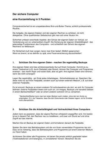 ist sein Handout (.pdf) - DJV Hamburg