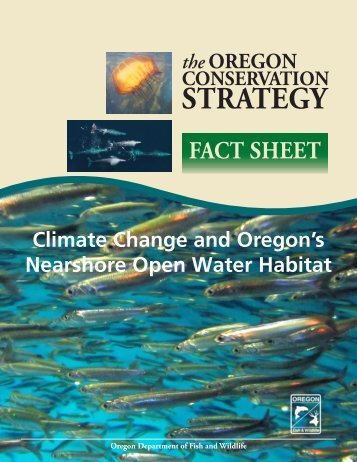 Climate Change and Oregon's Nearshore Open Water Habitat