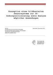 Indoorpositionierung sowie Analyse möglicher Anwendungen
