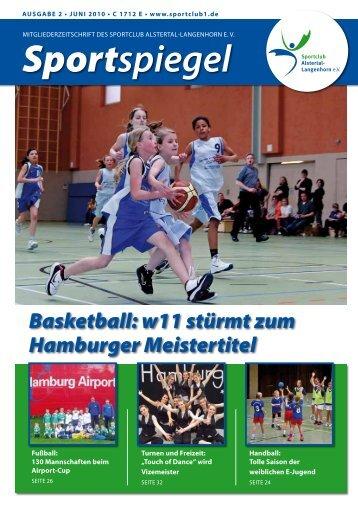 Sportspiegel - SC Alstertal Langenhorn