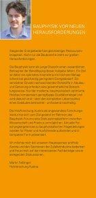 BAUPHYSIK FORUM 2011 - proHolz - Seite 2