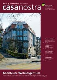 casanostra Nr. 105 herunterladen als pdf - hausverein.ch
