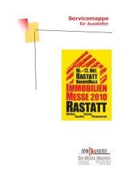 Servicemappe Rastatt 2010 - Dörr & Koltes Messen und ...