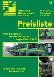 Preisliste 2012 (PDF) - Bau-Dienstleistungen