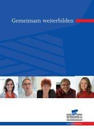 Gemeinsam weiterbilden - DGB-Bildungswerk NRW e.V.