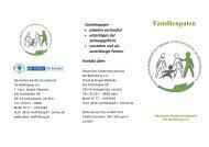 Familienpaten - Deutscher Kinderschutzbund eV
