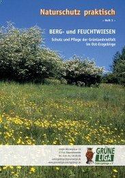 BERG- und FEUCHTWIESEN - Grüne Liga Osterzgebirge