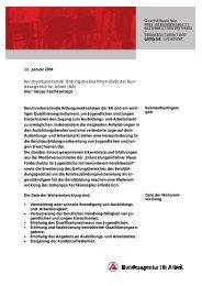 Berufsvorbereitende Bildungsmaßnahmen (BvB) der Bun ...