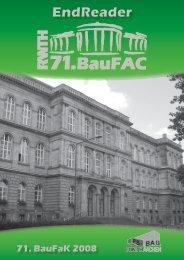 71. BauFaK - Fachschaft Bauingenieurwesen RWTH Aachen ...