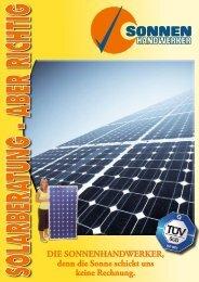 Photovoltaik-Katalog - Sonnenhandwerker GmbH