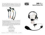 MB-1for Quiet Phone Pro