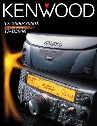 TS-2000/2000X TS-B2000 - Kenwood