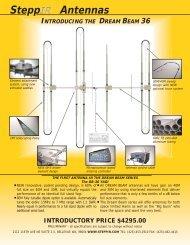 DB 36 brochure.qxd - SteppIR